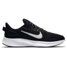 Nike Run All Day 2 Mens Running Shoes Black / White US 7, Black / White, rebel_hi-res