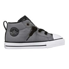 Converse Chuck Taylor All Star Street Back Pack Toddlers Shoes Grey / Black US 4, Grey / Black, rebel_hi-res