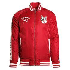 Sydney Swans Mens Vintage Bomber Jacket, , rebel_hi-res