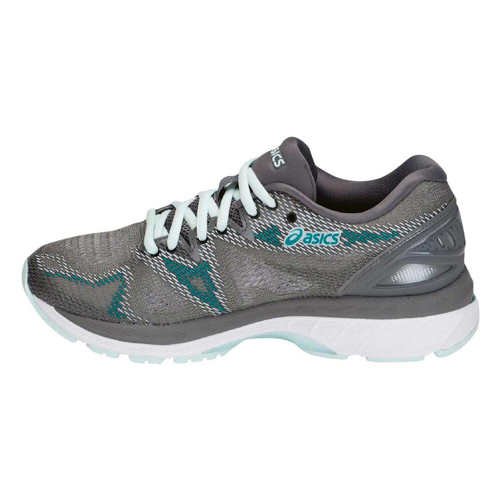 3c4c64f0e6d6 Asics GEL Nimbus 20 Womens Running Shoes Grey   White US 8