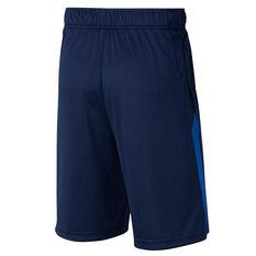 Nike Boys Training Shorts Navy XS, Navy, rebel_hi-res