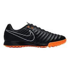 Nike Tiempo LegendX VII Academy Mens Touch and Turf Shoes Black / Orange US 7 Adult, Black / Orange, rebel_hi-res