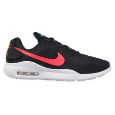 Nike Air Max Oketo Mens Casual Shoes Black / Red US 7, Black / Red, rebel_hi-res