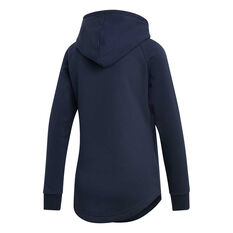 adidas Womens Must Haves BOS Over-Head Hoodie Navy / White XS, Navy / White, rebel_hi-res