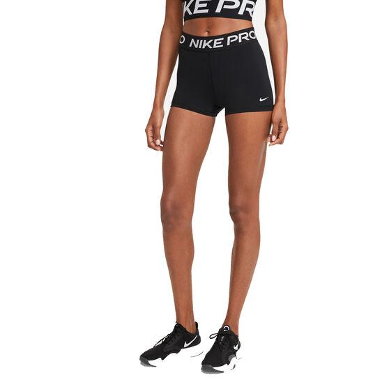 Nike Pro Womens 365 3in Shorts, Black, rebel_hi-res