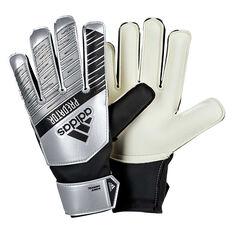 adidas Kids Predator Training Goalkeeper Gloves Silver / Black 3, Silver / Black, rebel_hi-res