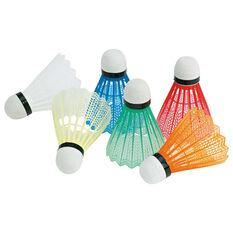 Grays Fluoro Plastic Badminton Shuttlecocks, , rebel_hi-res