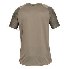 Under Armour Mens Mode Kit 1 Training Tee, Brown / Black, rebel_hi-res