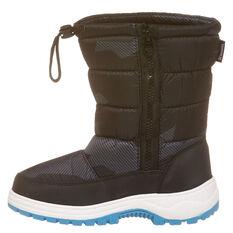 Tahwalhi Wizard Kids Snow Boots Grey US 11, Grey, rebel_hi-res