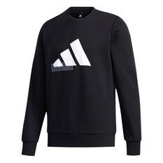 adidas Mens UB Graphic Sweatshirt Black M, Black, rebel_hi-res