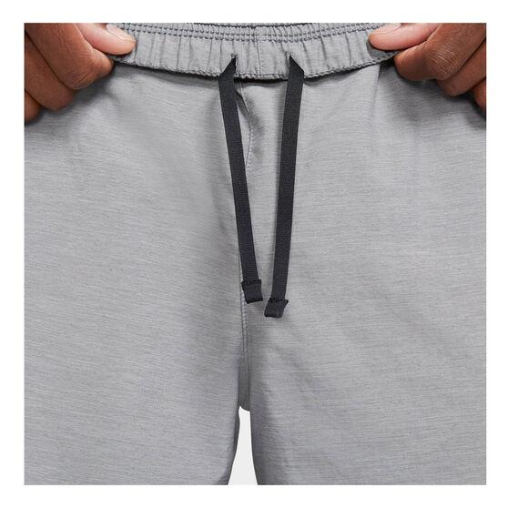 Nike Challenger Mens Dr-FIT Brief Lined Running Shorts, Grey, rebel_hi-res