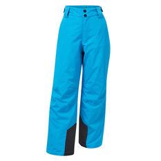Tahwalhi Boys Kick Ski Pants Blue 4, Blue, rebel_hi-res