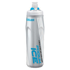 Camelbak Podium Ice 600ml Water Bottle Blue 600ml, Blue, rebel_hi-res