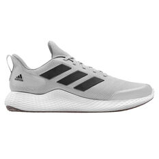 adidas Edge Gameday Mens Running Shoes Grey/Black US 7, Grey/Black, rebel_hi-res