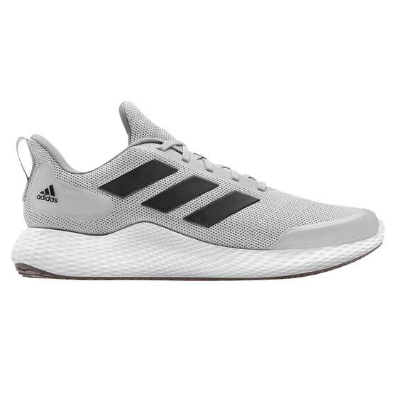 adidas Edge Gameday Mens Running Shoes, Grey/Black, rebel_hi-res