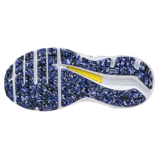 Mizuno Wave Horizon 5 Womens Running Shoes, Grey/Purple, rebel_hi-res