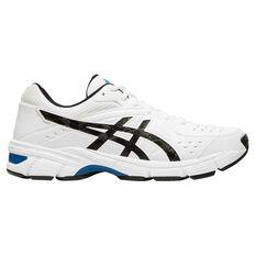 Asics Gel 195TR 2E Mens Training Shoes White / Black US 7, White / Black, rebel_hi-res