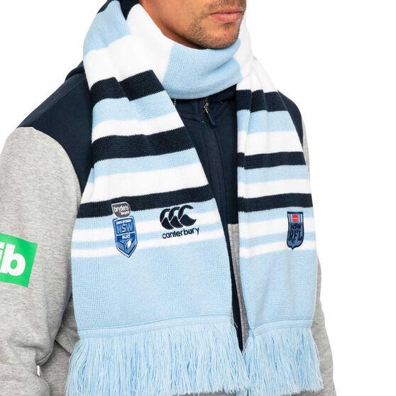 NSW Blues State of Origin 2020 Stripe Scarf, , rebel_hi-res