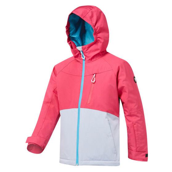 Tahwalhi Girls Angel Dust Ski Jacket, Pink, rebel_hi-res