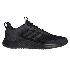 adidas Fluidstreet Mens Running Shoes Black US 7, Black, rebel_hi-res