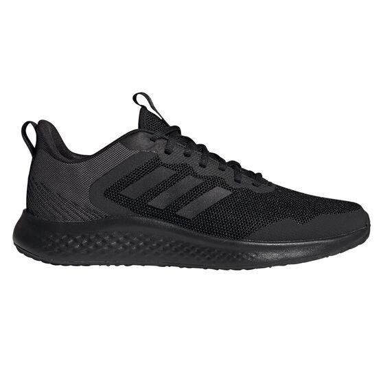 adidas Fluidstreet Mens Running Shoes, Black, rebel_hi-res