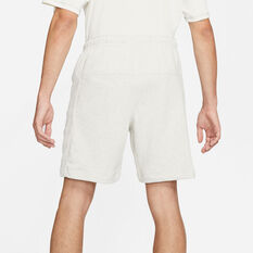 Nike Mens NSW SB Revival Shorts White XS, White, rebel_hi-res