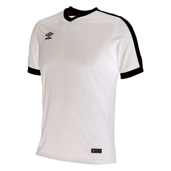Umbro Velocity Knit Jersey, White, rebel_hi-res