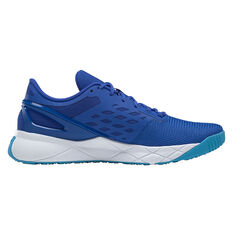 Reebok Nanoflex Mens Training Shoes Blue US 7, Blue, rebel_hi-res