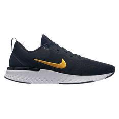 Nike Odyssey React Womens Running Shoes Black / Gold US 6, Black / Gold, rebel_hi-res