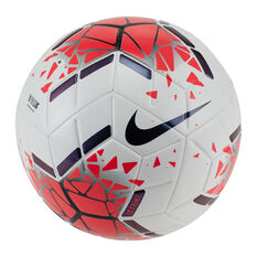 Nike Strike Soccer Ball White / Red 3, , rebel_hi-res