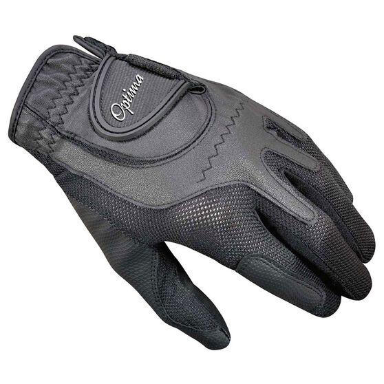 Optima Soft Feel Mens Golf Glove, Black, rebel_hi-res