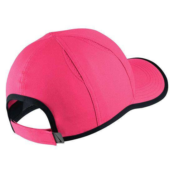 Nike Girls AeroBill Featherlight Cap Pink / Black OSFA, , rebel_hi-res