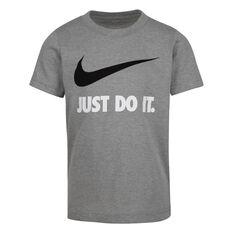 Nike Boys Swoosh JDI SS Tee Grey 4, Grey, rebel_hi-res