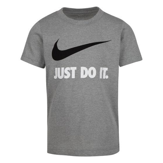 Nike Boys Swoosh JDI SS Tee, Grey, rebel_hi-res