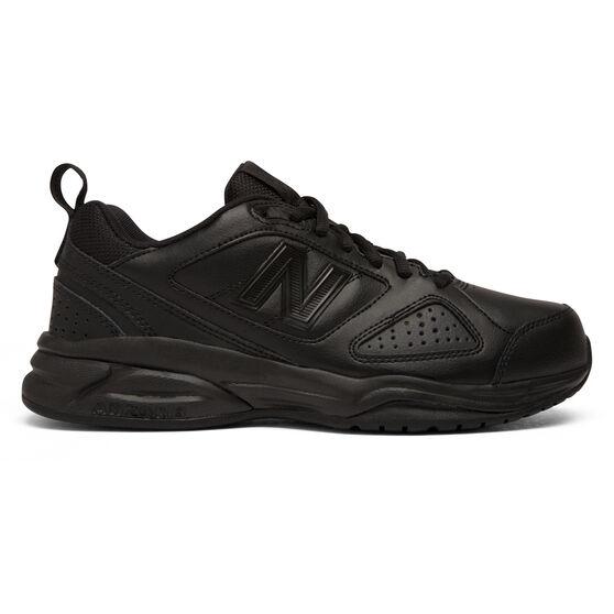New Balance WX624AB V4 D Womens Cross Training Shoes, Black, rebel_hi-res