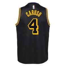 Nike Los Angeles Lakers Alex Caruso 2020/21 Kids Mamba City Edition Jersey Black S, Black, rebel_hi-res