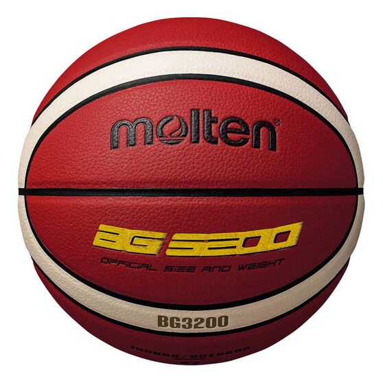 Molten BG3200 Basketball, Orange / White, rebel_hi-res