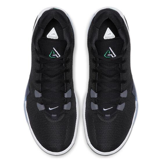 Nike Zoom Freak 1 Mens Basketball Shoes, Black / White, rebel_hi-res