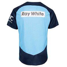 NSW Waratahs 2018 Mens Training Tee Blue S, Blue, rebel_hi-res
