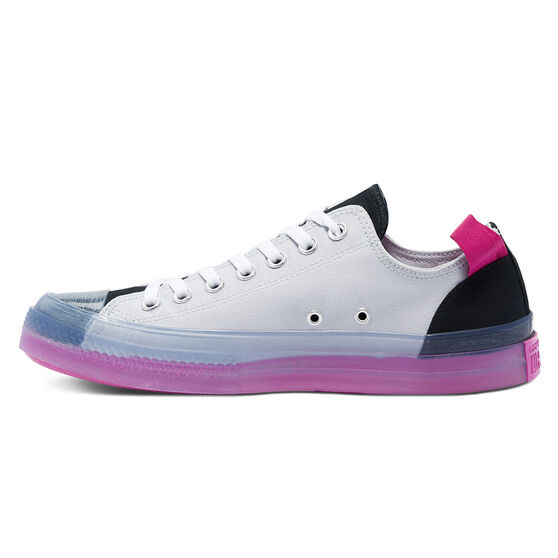 Chuck Taylor All Star CX Colourblocked Low Top Mens Casual Shoes, White/Black, rebel_hi-res