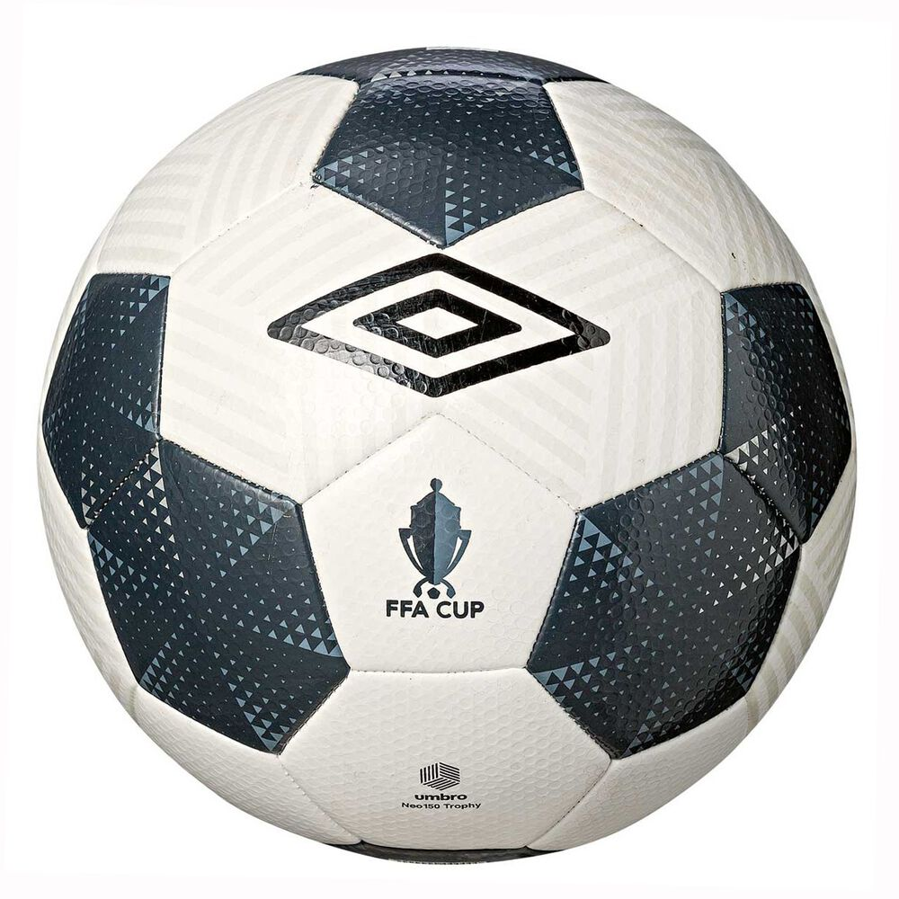 outlet store a572c 26fb2 Umbro Neo Trophy FFA Cup Replica Soccer Ball White / Grey 5