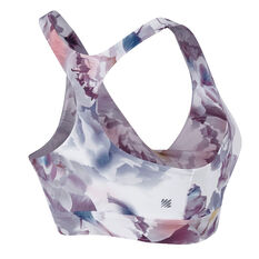 Ell & Voo Womens Madeline Twistful Sports Bra Print XS, Print, rebel_hi-res