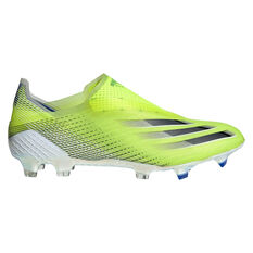 adidas X Ghosted + Football Boots Yellow/Black US Mens 9 / Womens 10, Yellow/Black, rebel_hi-res
