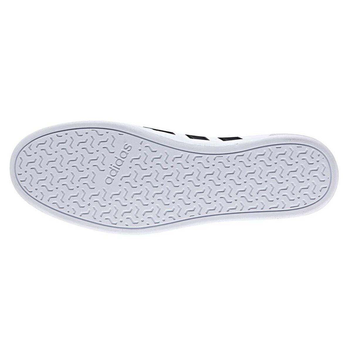 Adidas caflaire uomini scarpe bianco / nero occasionale noi 7 rebel sport