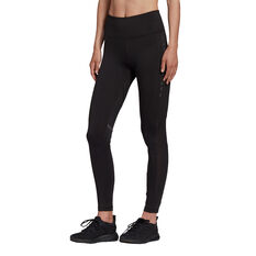 adidas Karlie Kloss Womens High Waisted Tights, Black, rebel_hi-res