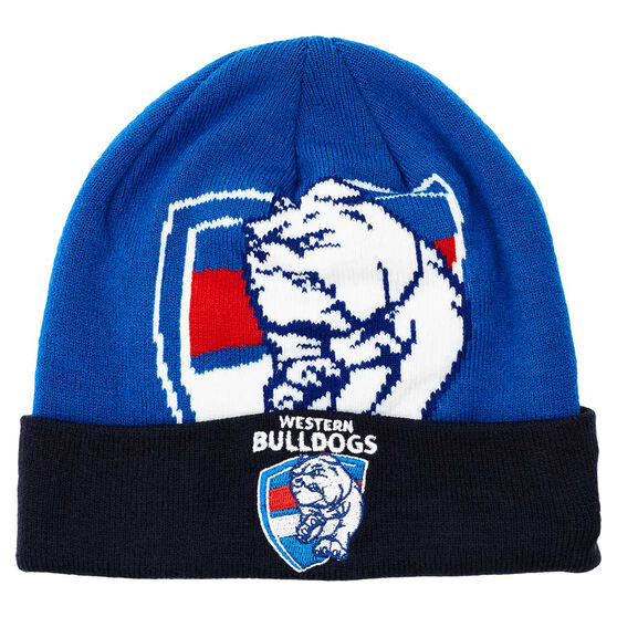 Western Bulldogs 2019 Training Beanie, , rebel_hi-res