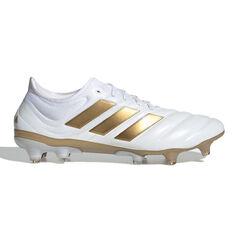 adidas Copa 19.1 Football Boots White / Gold US Mens 7 / Womens 8, , rebel_hi-res