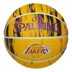Spalding NBA Team Los Angeles Lakers Marble Basketball, , rebel_hi-res