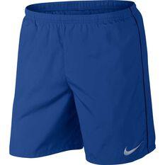 Nike Mens 7in Run Shorts Dark Indigo S, Dark Indigo, rebel_hi-res
