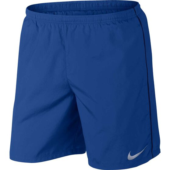 Nike Mens 7in Run Shorts, Dark Indigo, rebel_hi-res